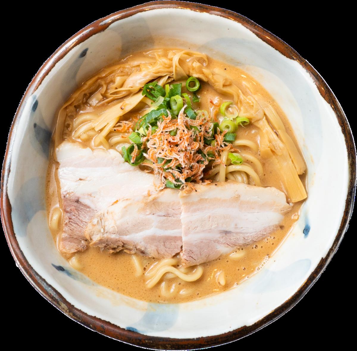 濃厚エビ味噌ラーメン - 潮の風吹くラーメン ハナヤマZ