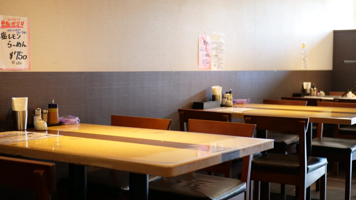 店舗内観 - 潮の風吹くラーメン ハナヤマZ
